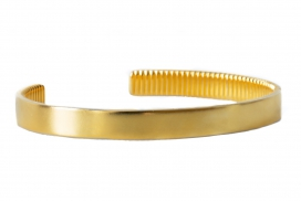 The Bangle Bracelet - Satin Gold