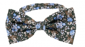 Fluga Floral | Green Blue