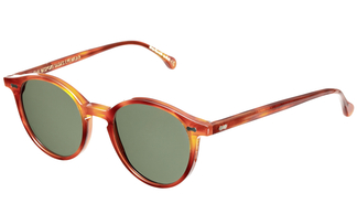 Cran Classic Tortoise - Bottle Green Lenses
