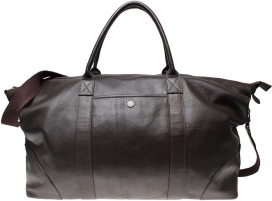 Weekend Bag Boomerang - Dark Brown