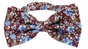 Butterfly Floral | Burgundy Blue