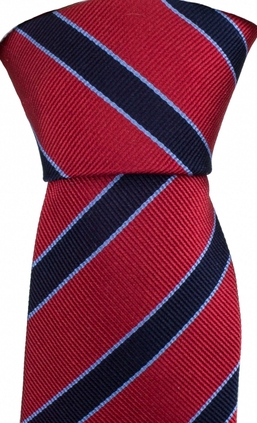 Striped Red/Navy