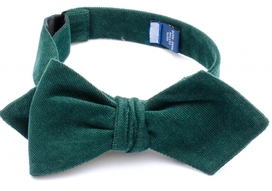 Premium Collection – Ivy Self Tie Hunter Green
