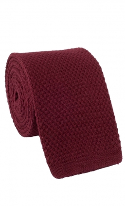 Knitted Burgundy