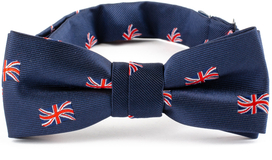 British Flag Kids Bow Tie